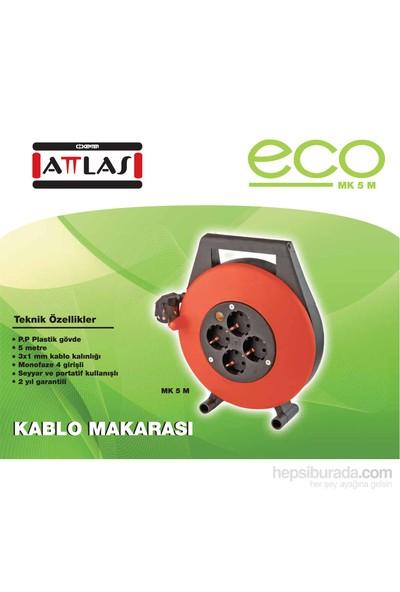ATTLAS ECO MK5M 3x1mm Kablo Makarası (5 mt)
