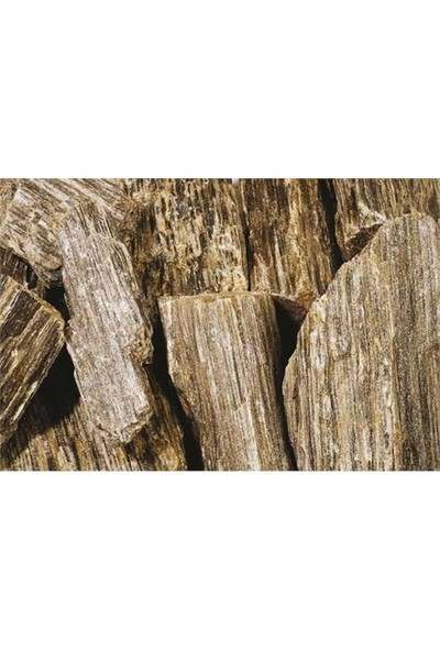 Plantistanbul Wooden Rock Doğal Dekoratif Taş 8-12 Cm, 25 Kg