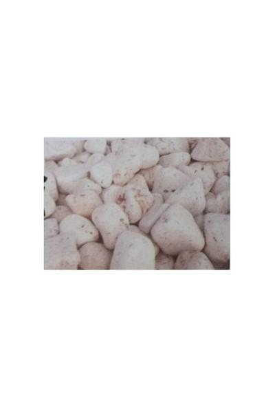 Plantistanbul Pink Travertin Doğal Dekoratif Taş 8-12 Cm, 25 Kg