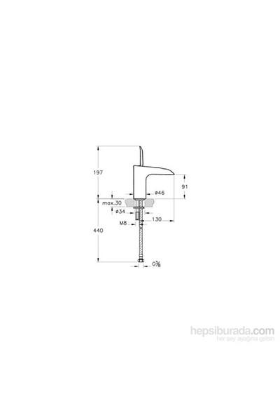 Artema T4 Lavabo Bataryası (Şelale Akışlı)