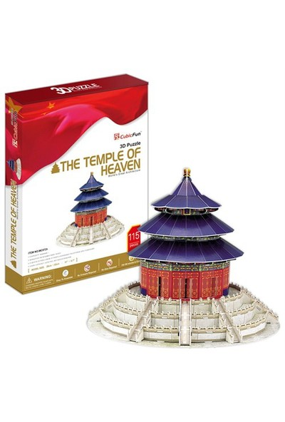 Cubic Fun Puzzle The Temple Of Heaven (3 Boyutlu)