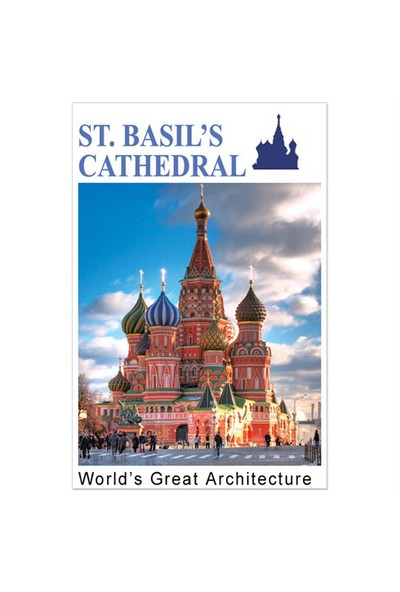 Cubic Fun Puzzle St. Basil's Cathedral (3 Boyutlu)