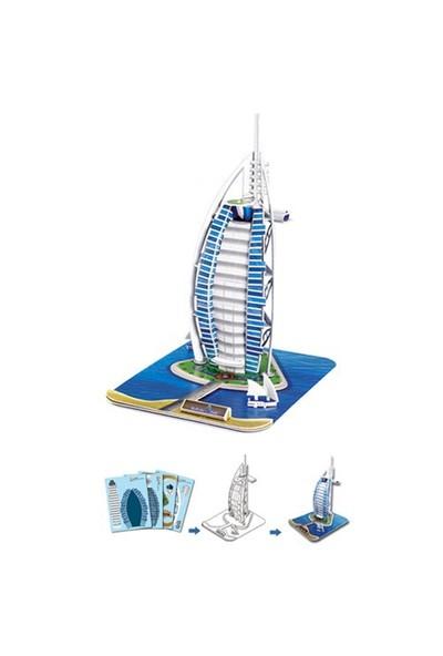 Cubic Fun Puzzle Burj Al Arab (3 Boyutlu)