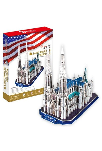 Cubic Fun Puzzle Saint Patrick's Cathedral (3 Boyutlu)