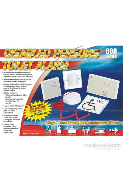 C-TEC Engelli Tuvalet Alarmı