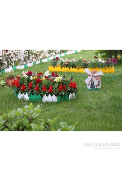 Hobby Life Dekoratif Bahçe Çiti Beyaz