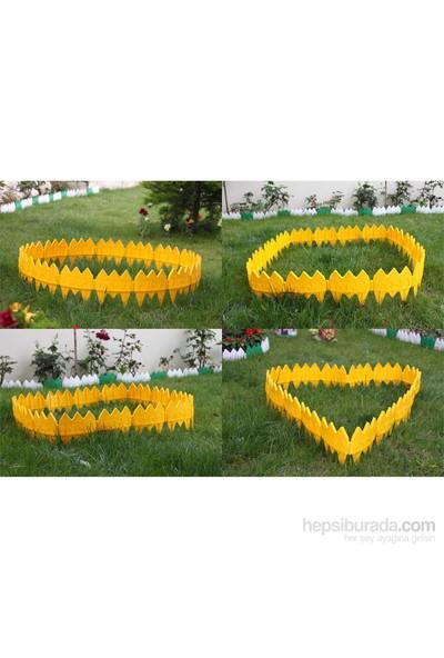 Hobby Life Dekoratif Bahçe Çiti Kahverengi