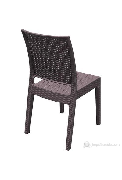 Siesta 816 Florida Sandalye Kahverengi - 1 Adet