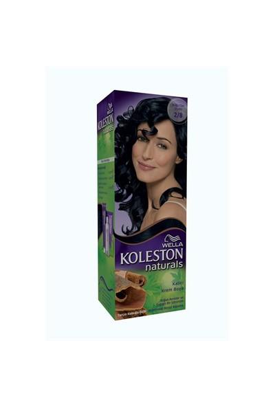 Koleston Naturals Saç Boyası 2/8 Böğürtlen Siyahı