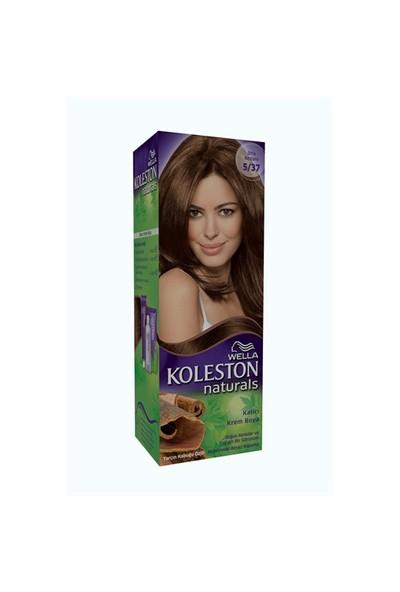 Koleston Naturals Saç Boyası 5/37 Orta Kestane