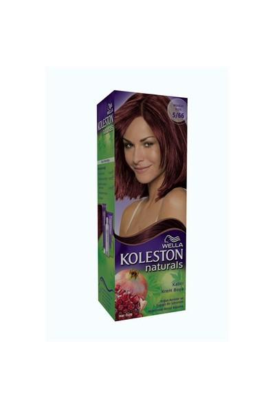 Koleston Naturals Saç Boyası 5/66 Mürdüm Kızılı