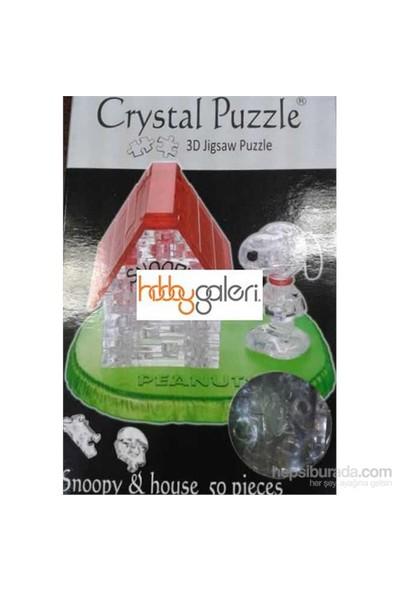Snoopy& House (50 Parça Puzzle )