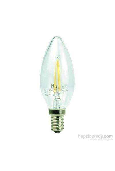NextLED (Next&NextStar) E14 2W Kuyruksuz Gün Işığı Led Ampul