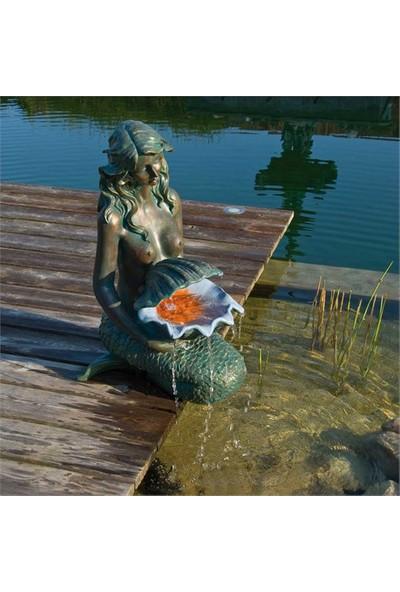 Poolline Mermaid Denizkızı Figürlü Süs Havuzu Seti
