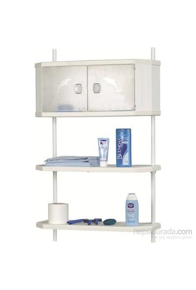 Doğuş Pololüx Banyo Dolap Ve Raf Sistemi-Şeffaf