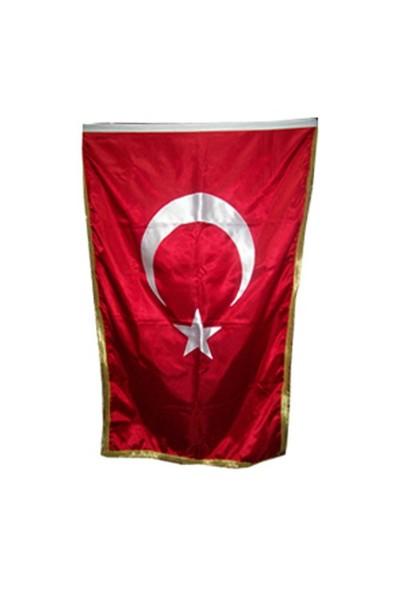 Us Bayrak Makam Bayrağı 100X150 Cm Saten