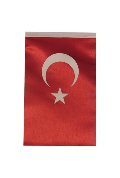 Us Bayrak Dikdörtgen Saten Masa Bayrağı
