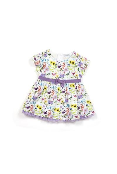 Zeyland Kız Çocuk Desenli Elbise - K-61M2LIU31