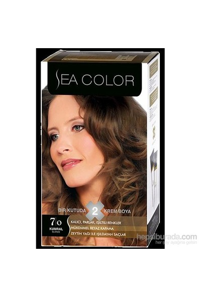 Sea Color 7/0 - Kumral Saç Boyası