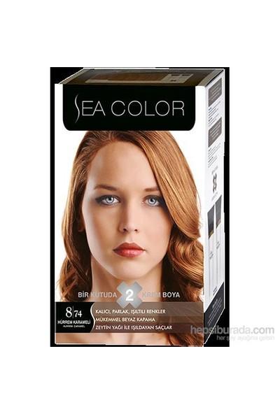 Sea Color 8/74 - Hürrem Karameli Saç Boyası