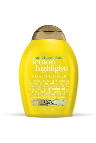 OGX Lemon Highlights Conditioner 385 Ml Sarı S