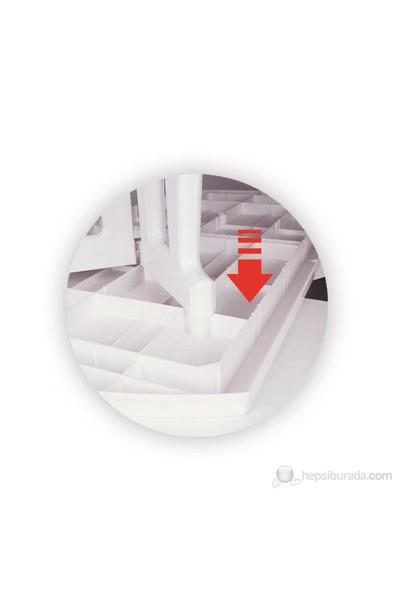 Siesta 158 90X180 Cm Oval Masa Beyaz