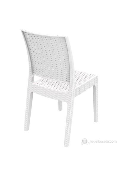 Siesta 816 Florida Sandalye Beyaz - 1 Adet