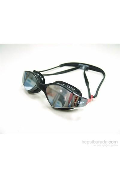 Cup - S53uv Aynalı Yüzme Gözlüğü Beyaz