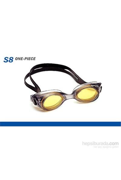 Cup - S8 Yekpare Yüzme Gözlüğü Sarı