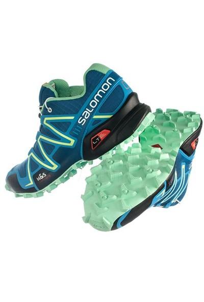 7466e09dbfbc Salomon Speedcross 3 W Ayakkabı L36982000   Darkness Blue Boss Blue Lucıte  Green -