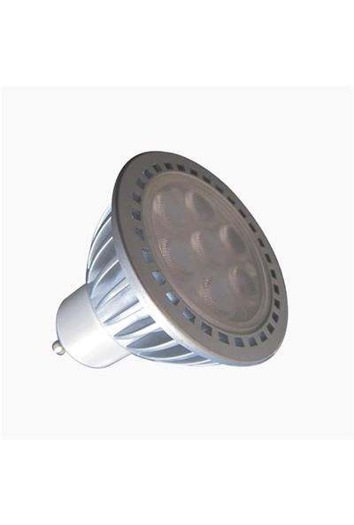 Lamptime 7W Gu10 Duylu (Starter Ayak) 6500K Beyaz Işık 303603