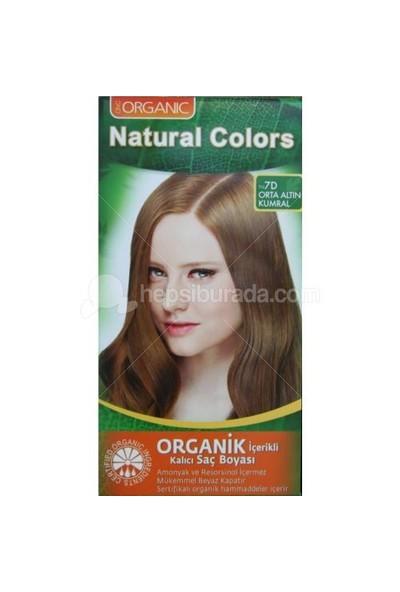 Natural Colors Orta Altın Kumral Saç Boyası