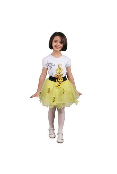 23 Nisan Kız Çocuk Tütü Etekli 2 li Takım 037-23M06-001