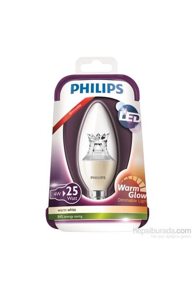 Philips Led Warmglow Ampul 25W E14 Ww 230V B38 Cl D/4