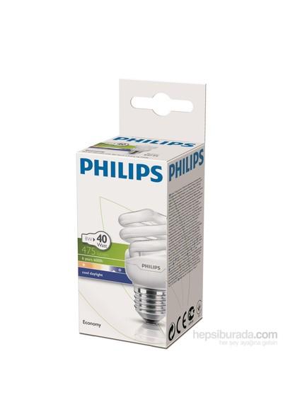 Philips EconomyTwister 8W Beyaz Işık Normal Duy