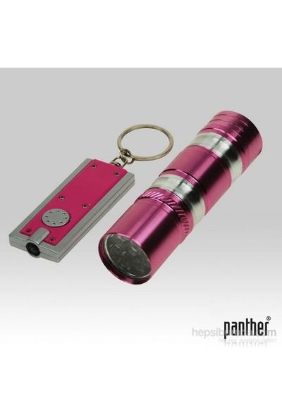 Panther PT-8031 El Feneri ve Anahtarlık Fener Seti