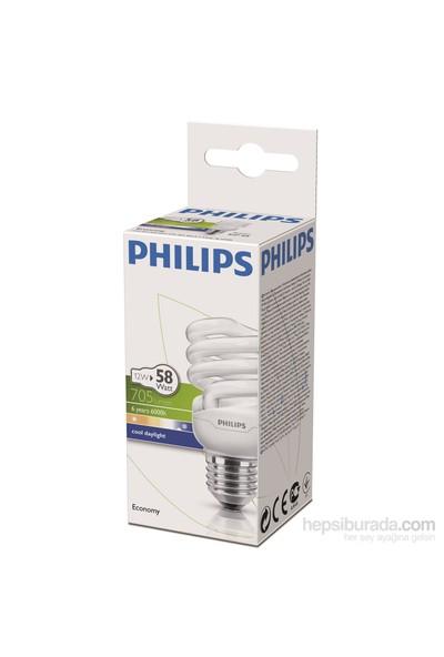 Philips EconomyTwister 12W Beyaz Işık Normal Duy