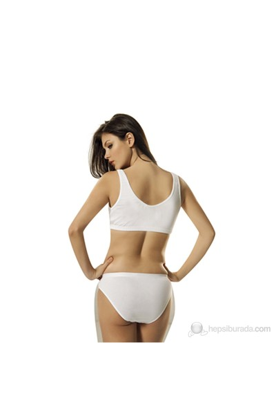 Namaldı 205 Kadın %100 Pamuk Body Sütyen