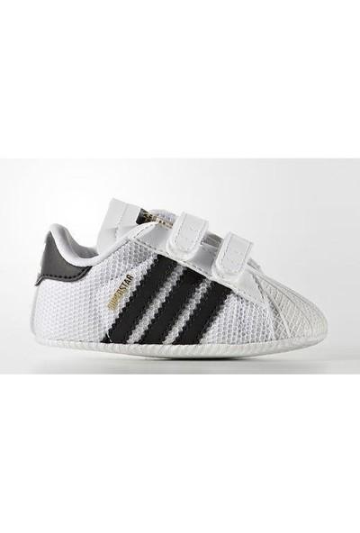 Adidas Bebek Patik S79916 Superstar Crib