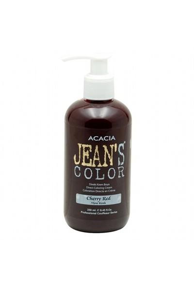 Acacia Jeans Color Saç Boyası Vişne Kızılı 250 Ml