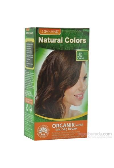 Natural Colors Organic Boya 5N Açık Kahve