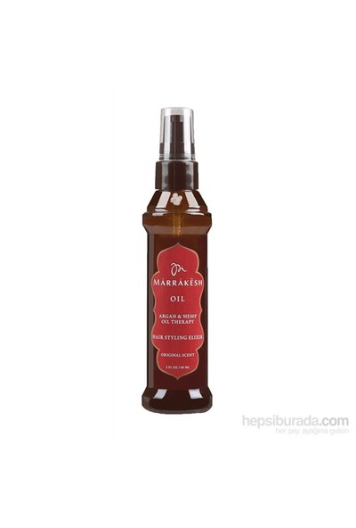 Marrakesh Argan Oil - Argan Saç Bakım Yağı 60 ML