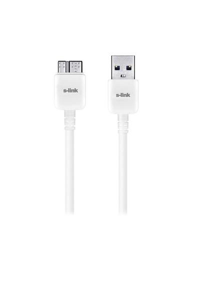S-Link Smg-495 Samsung Note3/S5 Micro Usb 3.0 Data + Şarj Kablosu