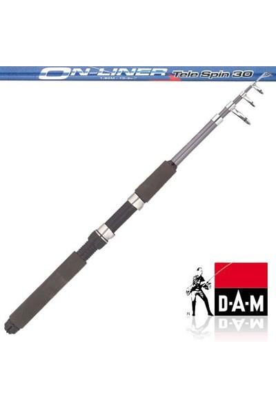 D.a.m 2489 Onliner Tele Spin 30Kamış (Boy 180cm-Atarı 10-30gr)