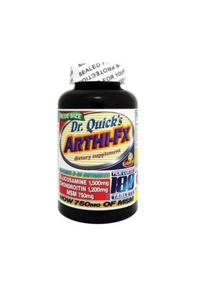 Dr Quicks Arthi-Fx - Glucosamine , Chondroitin + MSM 180 Adet Tablet