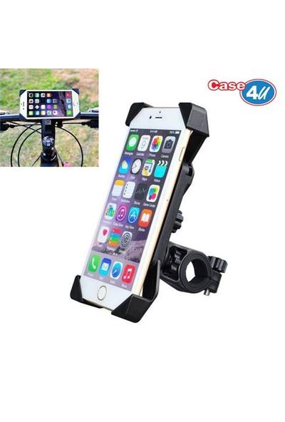 Case 4U Bisiklet ve Motorsiklet Universal Telefon Tutucu (Tüm Modellerle Uyumlu)