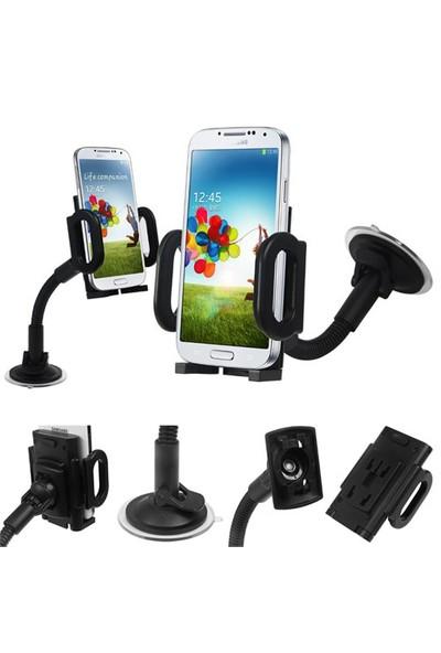 Lopard Comfort Spiralli Universal Araç İçi Telefon Tutucu - Tüm Modellere Uyumlu