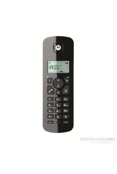 Motorola C401 E Siyah Dect Telefon