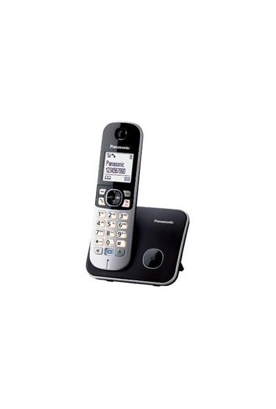 Panasonic Dect Telefon KX-TG6811 (Elektrik Kesintisinde Konuşabilme) Siyah
