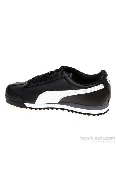 Puma Siyah Genç Ayakkabısı 354259011 Roma Basic Jr